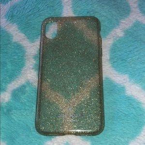 Kate Spade Glitter Iphone X Case